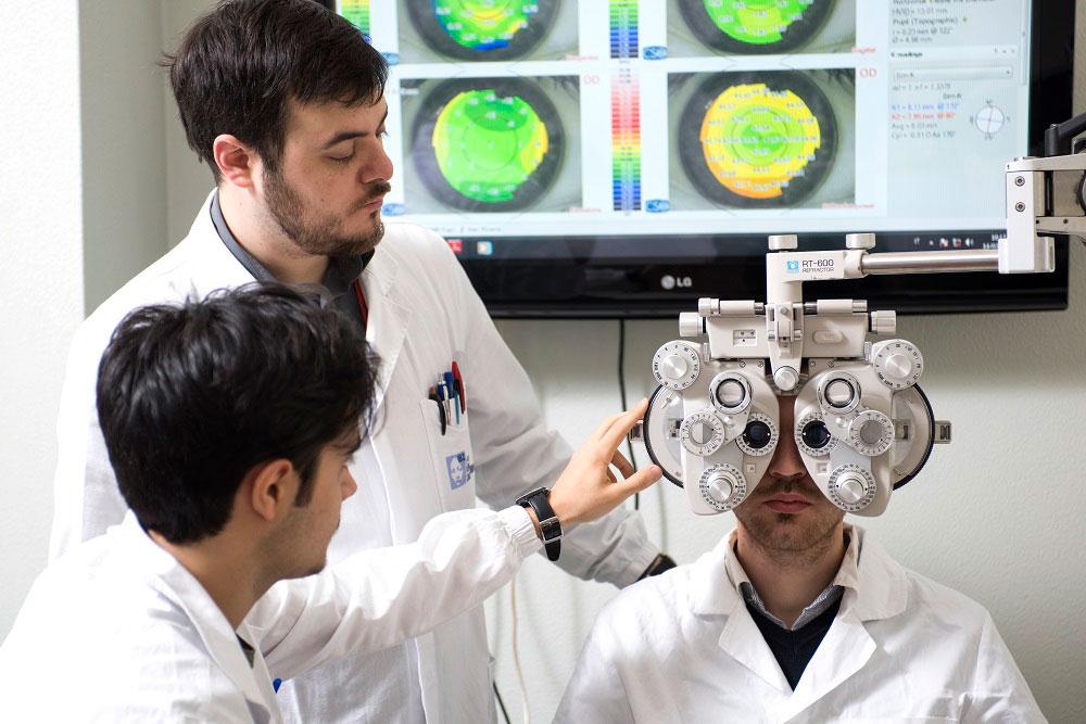 esercitazioni di optometria